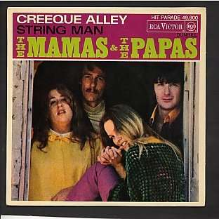 Creeque Alley String Man By The Mamas Amp The Papas Sp