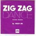 THE FOGGY JOE BAND ( J-M JARRE ) - zig zag dance ( pochette violette ) - 45T (SP 2 titres)
