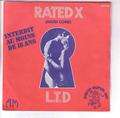 L.T.D. (LOVE TOGETHERNESS DEVOTION) - rated x ( hard core ) - 45T (SP 2 titres)