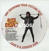 ALICE COOPER Love's a loaded gun