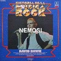 David BOWIE HISTORIA DE LA MUSICA ROCK