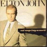 Elton JOHN Sad songs