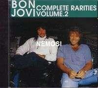 BON JOVI COMPLETE RARITIES VOLUME 2