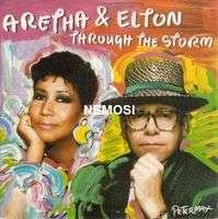 Aretha FRANKLIN & Elton JOHN Through the storm