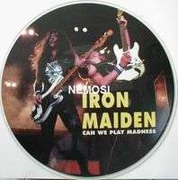 IRON MAIDEN can we play madness