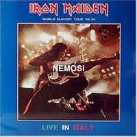IRON MAIDEN LIVE IN ITALY
