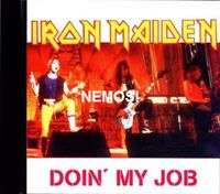 IRON MAIDEN doin' my job