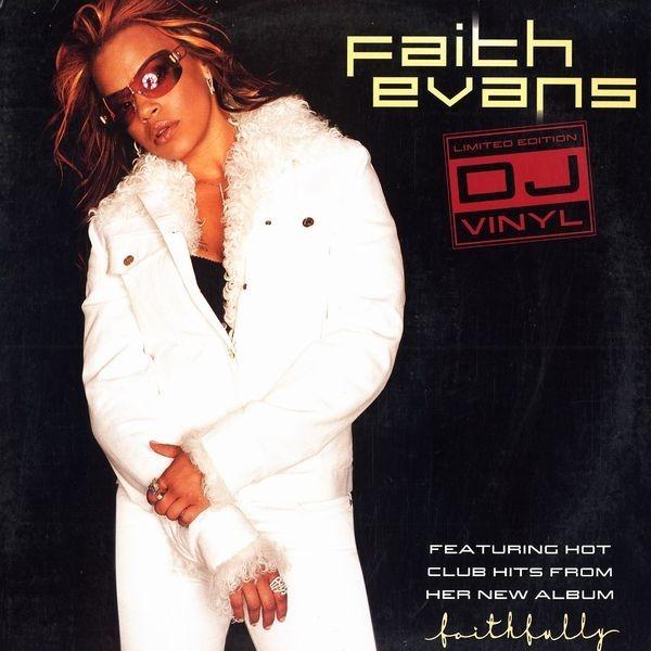 Faith Evans Limited edition Dj vinyl - Hot Club Hits From Faithfully