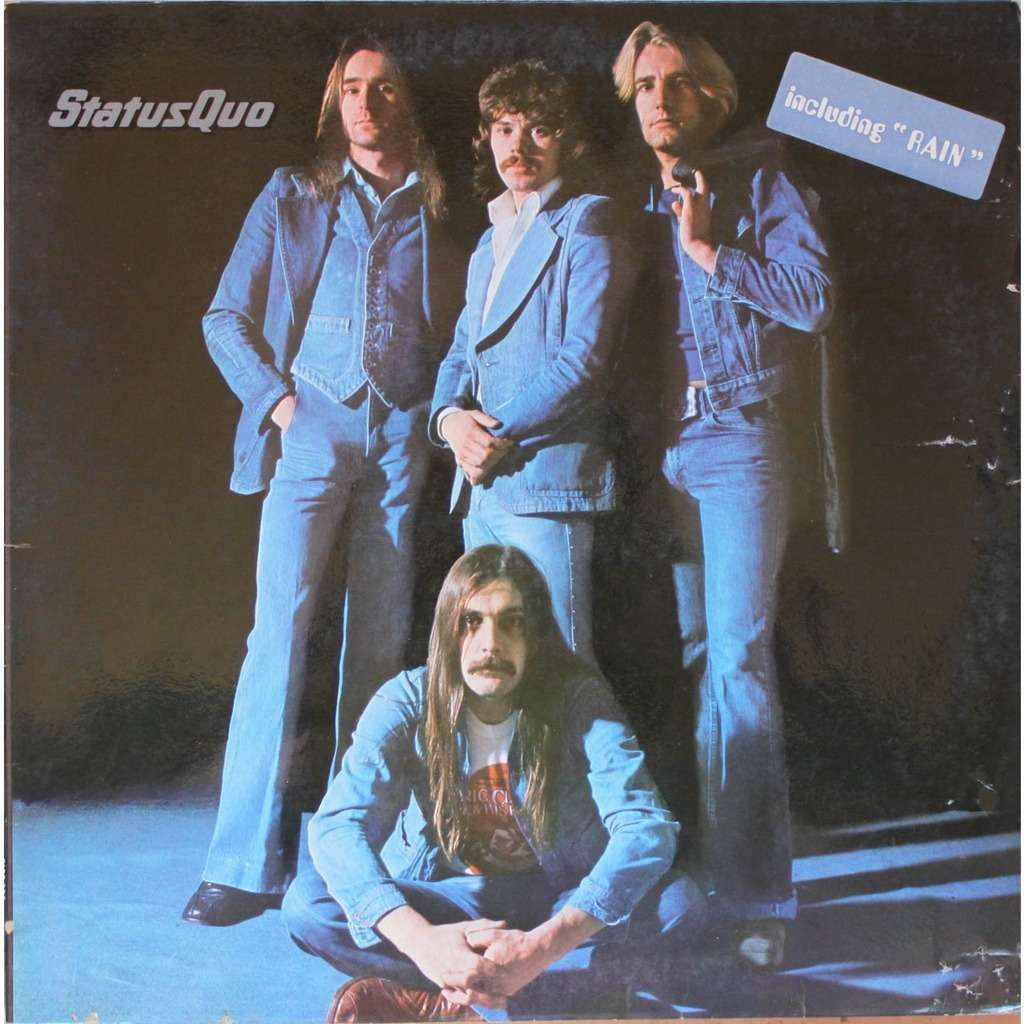 Blue For You By Status Quo Lp With Nyphus Ref 115150835