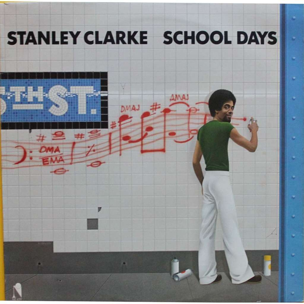 School Days By Stanley Clarke, LP With Nyphus