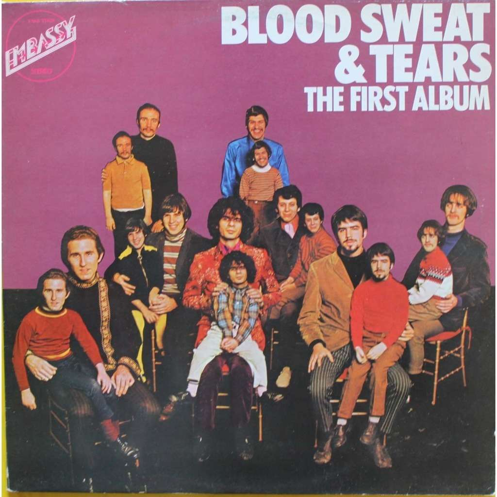 Blood Sweat and Tears First Album - Holland Embassy 1970s 12-track LP