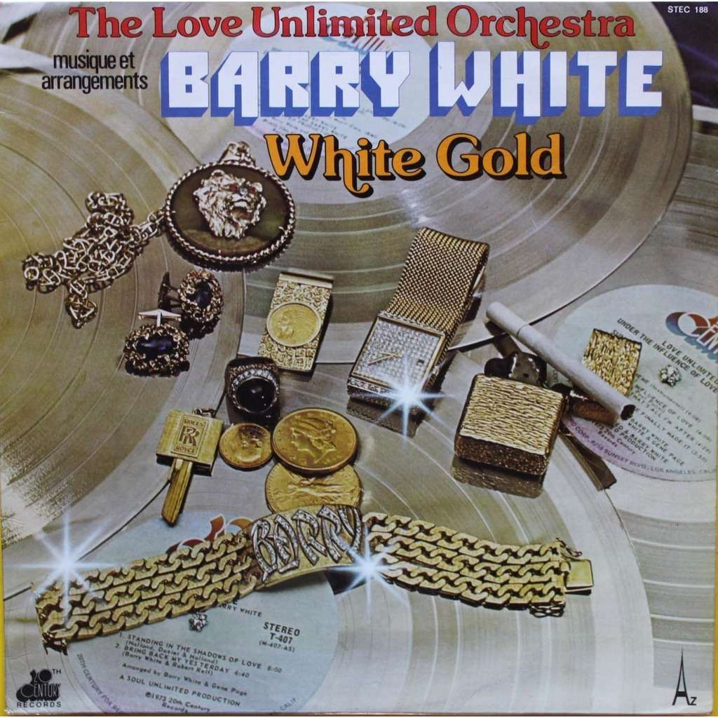 WHITE barry White gold