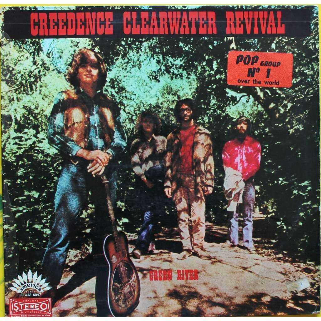 Green River By Creedence Clearwater Revival Lp With