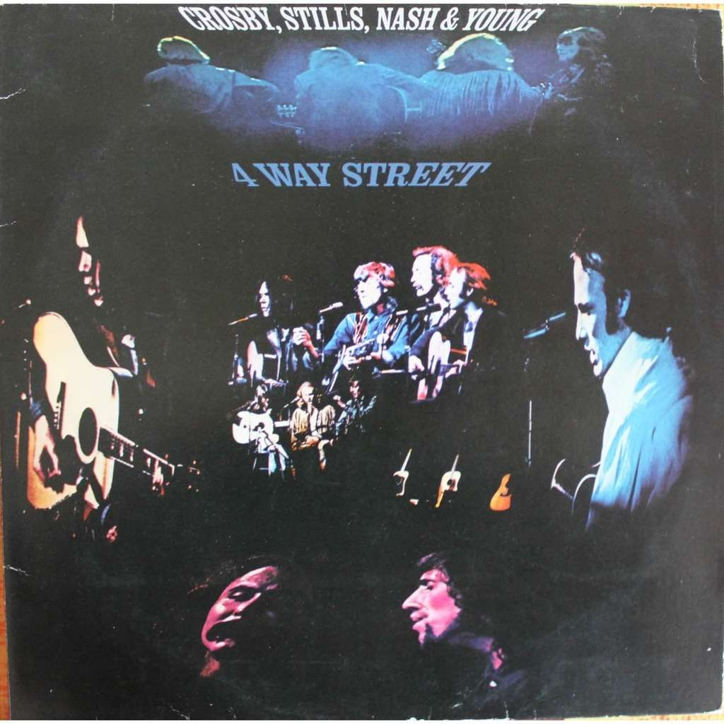 4 way street by Crosby Stills Nash & Young, LP with nyphus ...