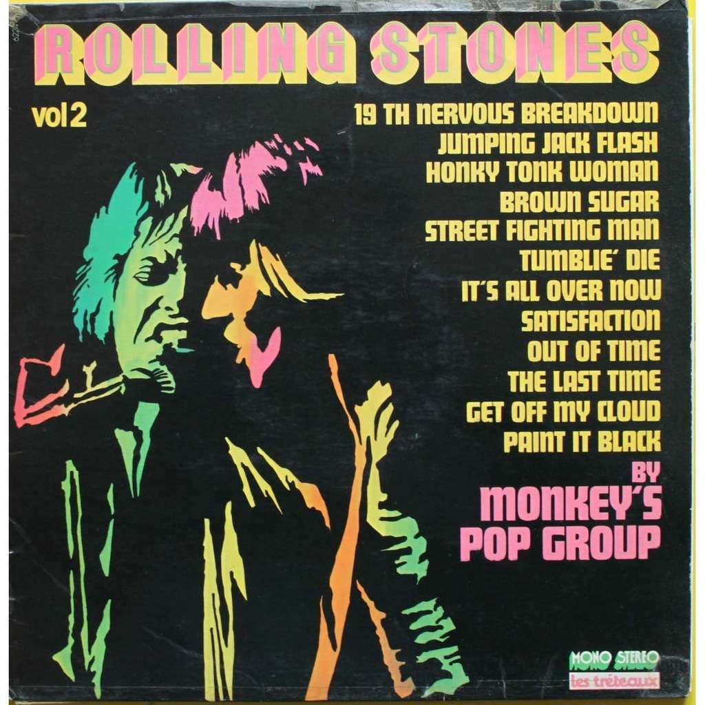 Rolling Stones Vol 2 Cover Version By Monkey S Pop Group