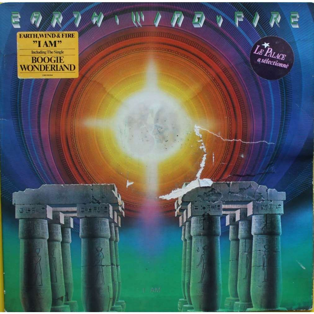 I Am By Earth Wind Amp Fire Lp With Nyphus Ref 115304231