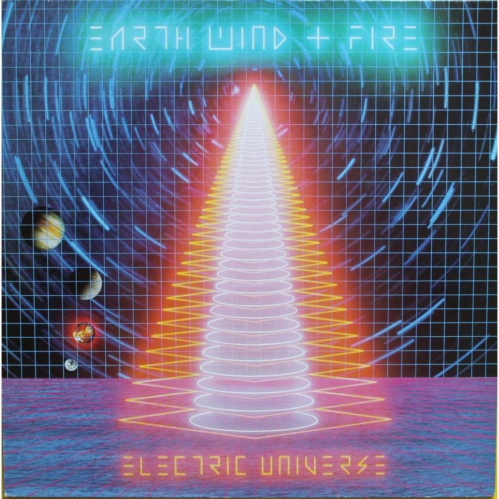Electric Universe By Earth Wind And Fire Lp Gatefold With
