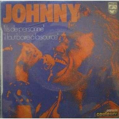 Johnny HALLYDAY Fils de personne