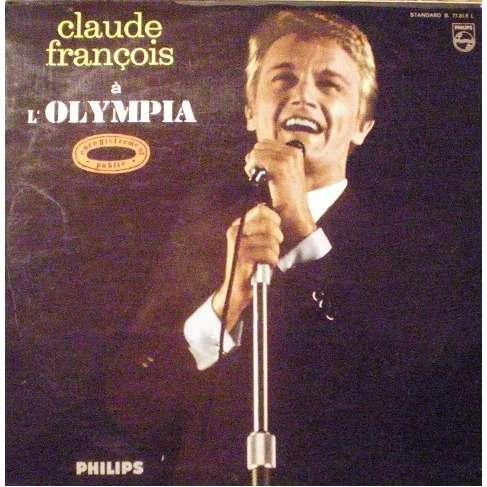 FRANCOIS Claude Claude François à l'Olympia