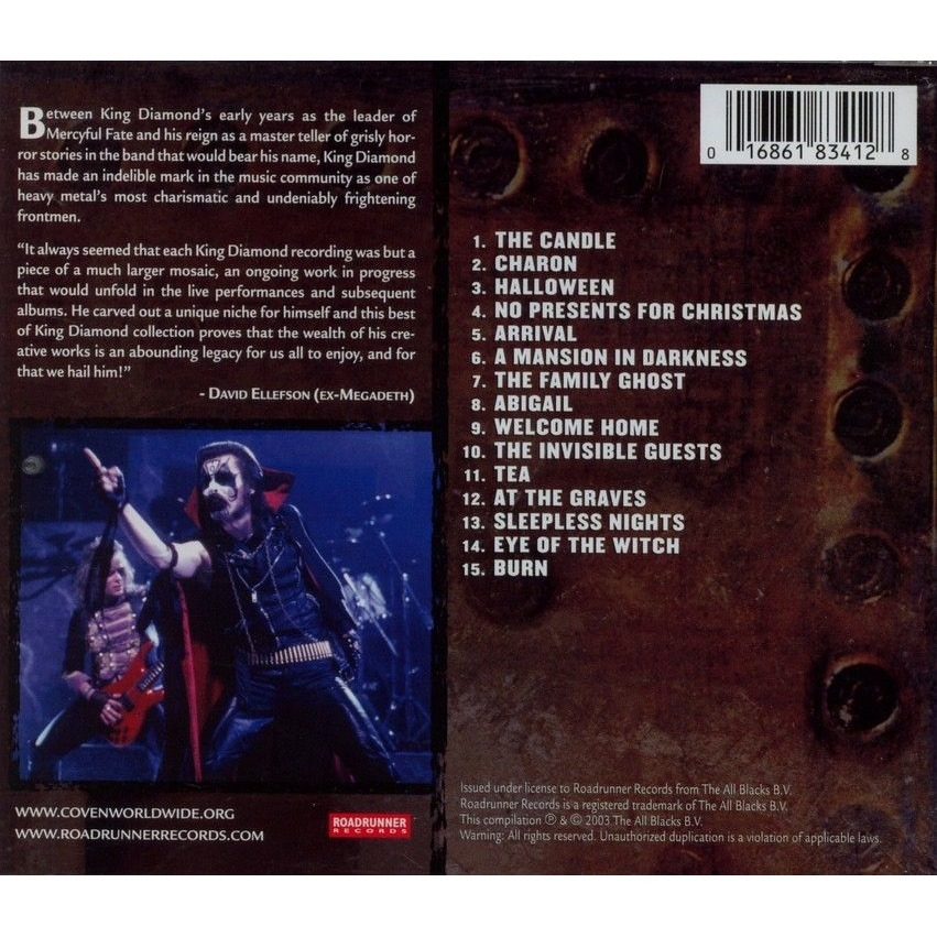 Best of by King Diamond, CD with oemie - Ref:113247878