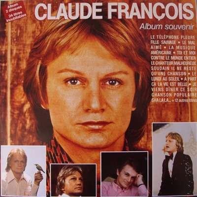 CLAUDE FRANCOIS ALBUM SOUVENIR 24 TITRES