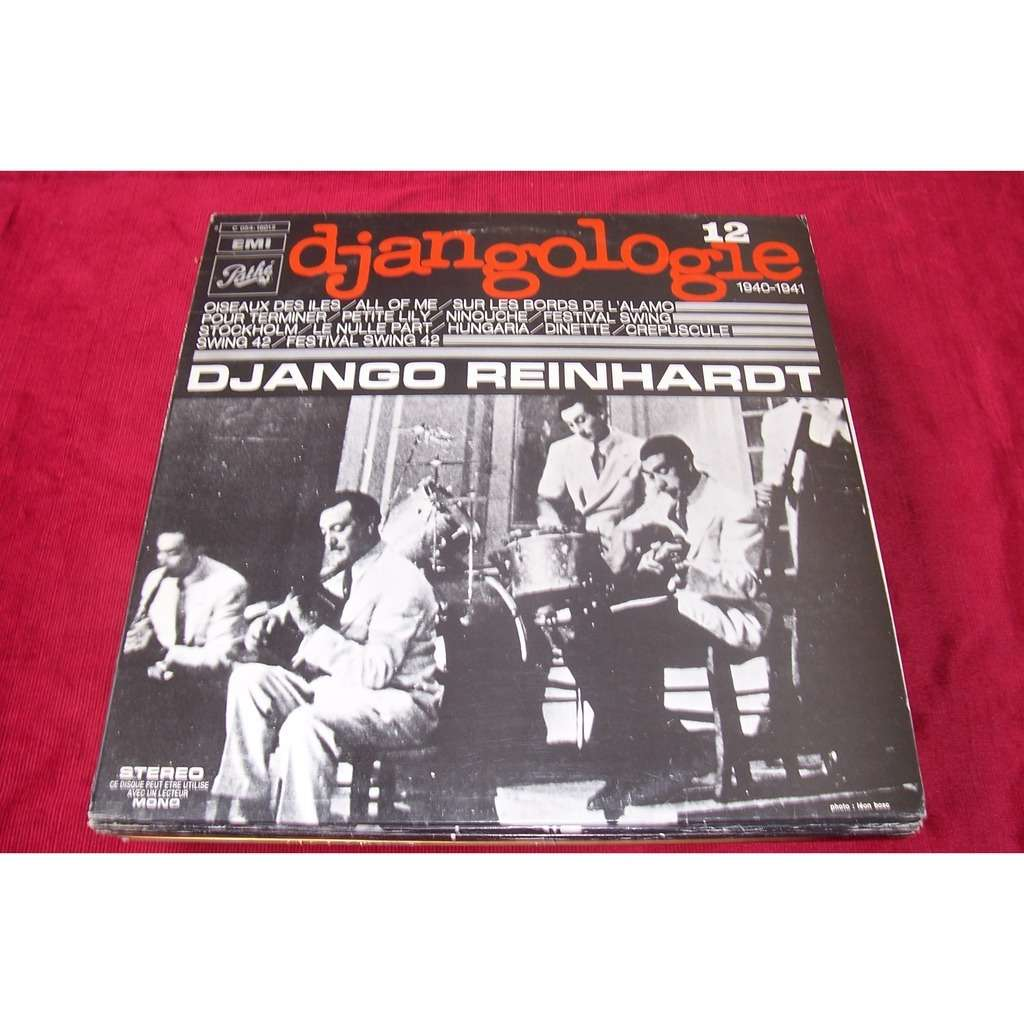 django reinhardt DJANGOLOGIE  1940 / 1941  No 12