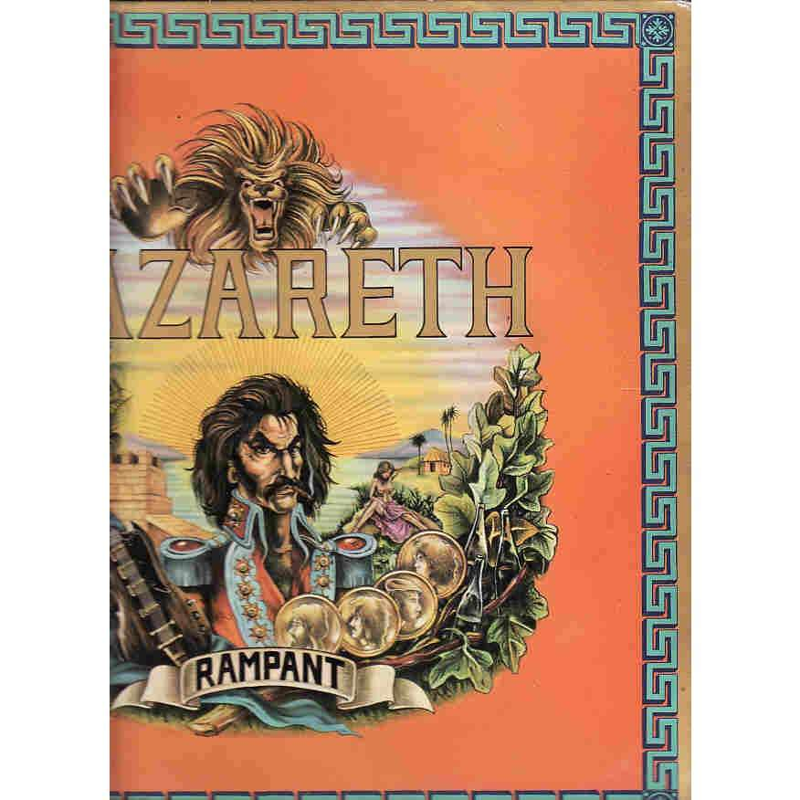 Nazareth Rampant Lp For Sale On Cdandlp Com