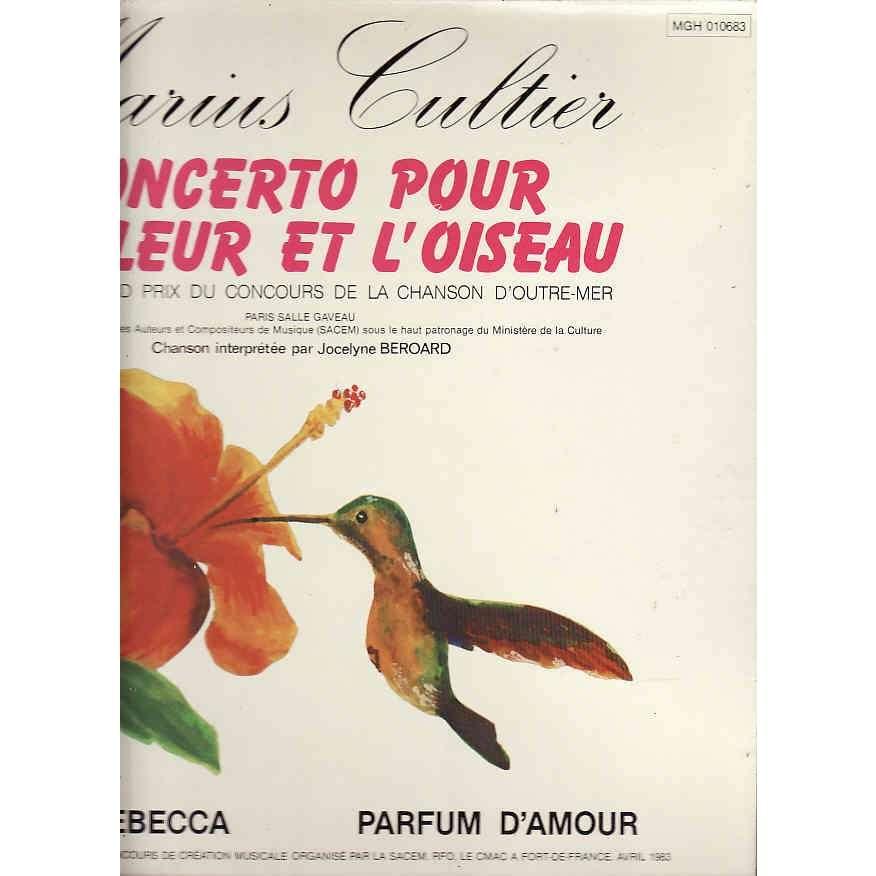 Marius Cultier Concerto Pour La Fleur Et LOiseau