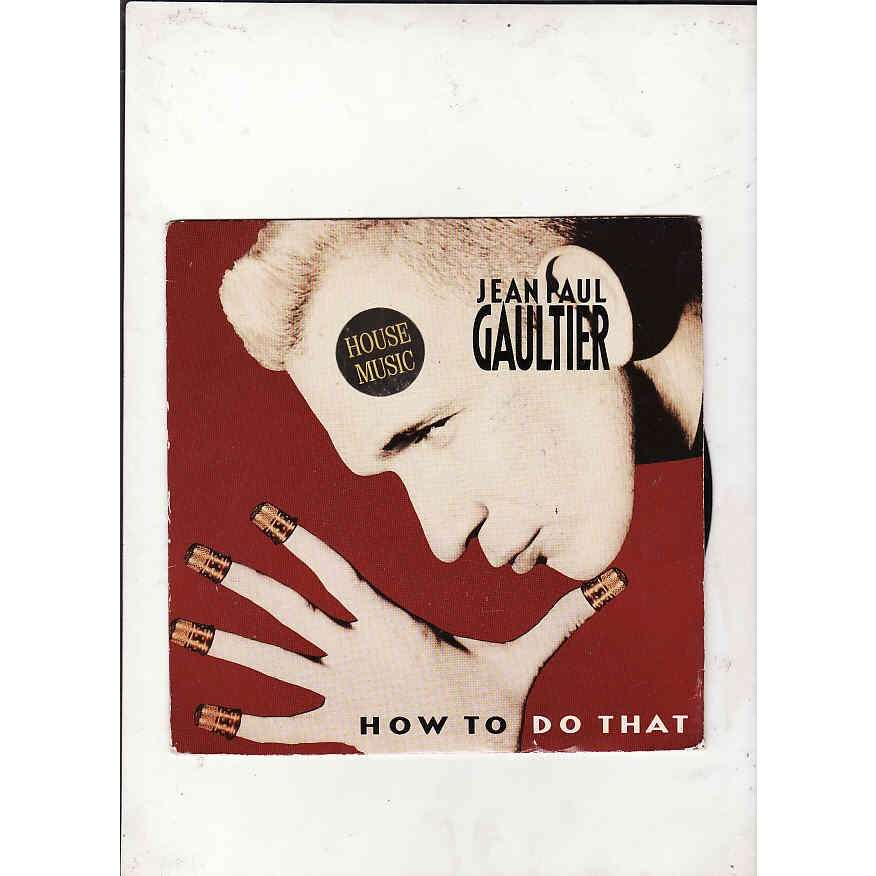 JEAN PAUL GAULTIER how to do that -