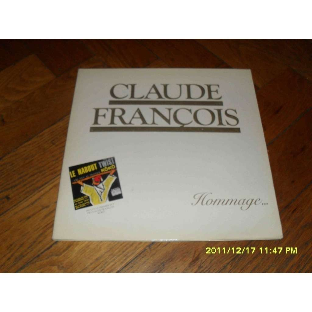 CLAUDE FRANCOIS HOMMAGE.... AVEC 45T