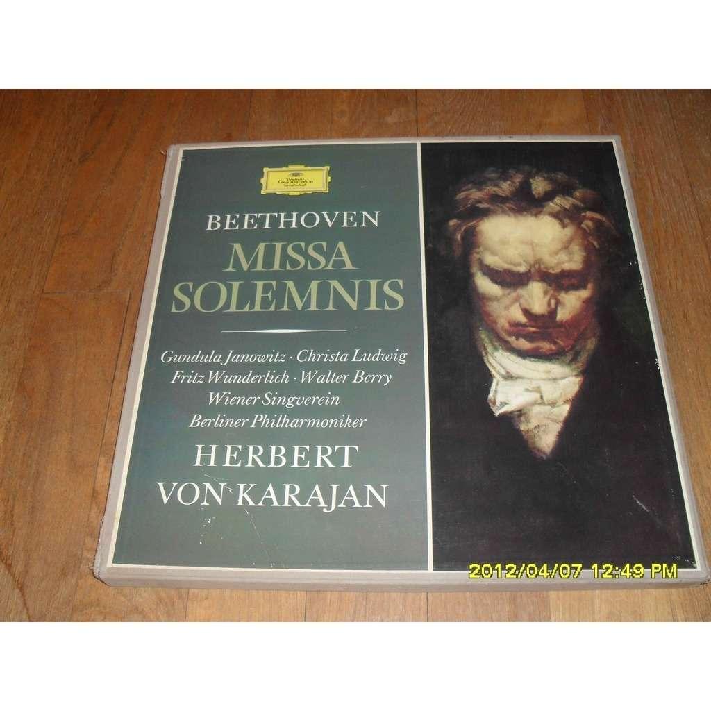 Herbert Von Karajan Beethoven Missa Solemnis