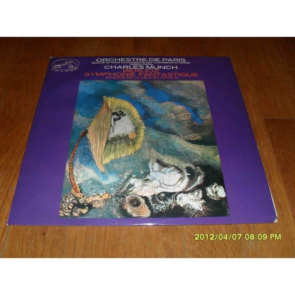 CHARLES MUNCH BERLIOZ : symphonie fantastique