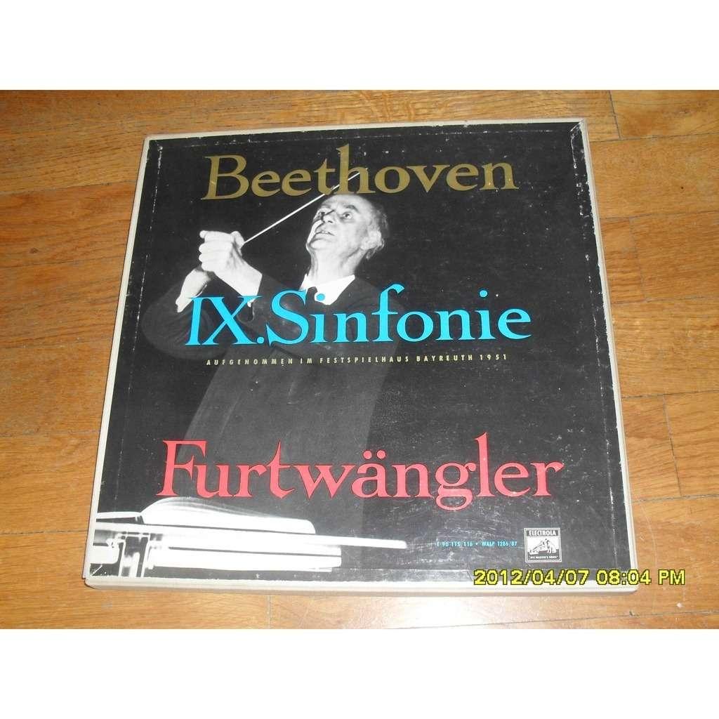 WILHELM FURTWANGLER BEETHOVEN = IX symphony