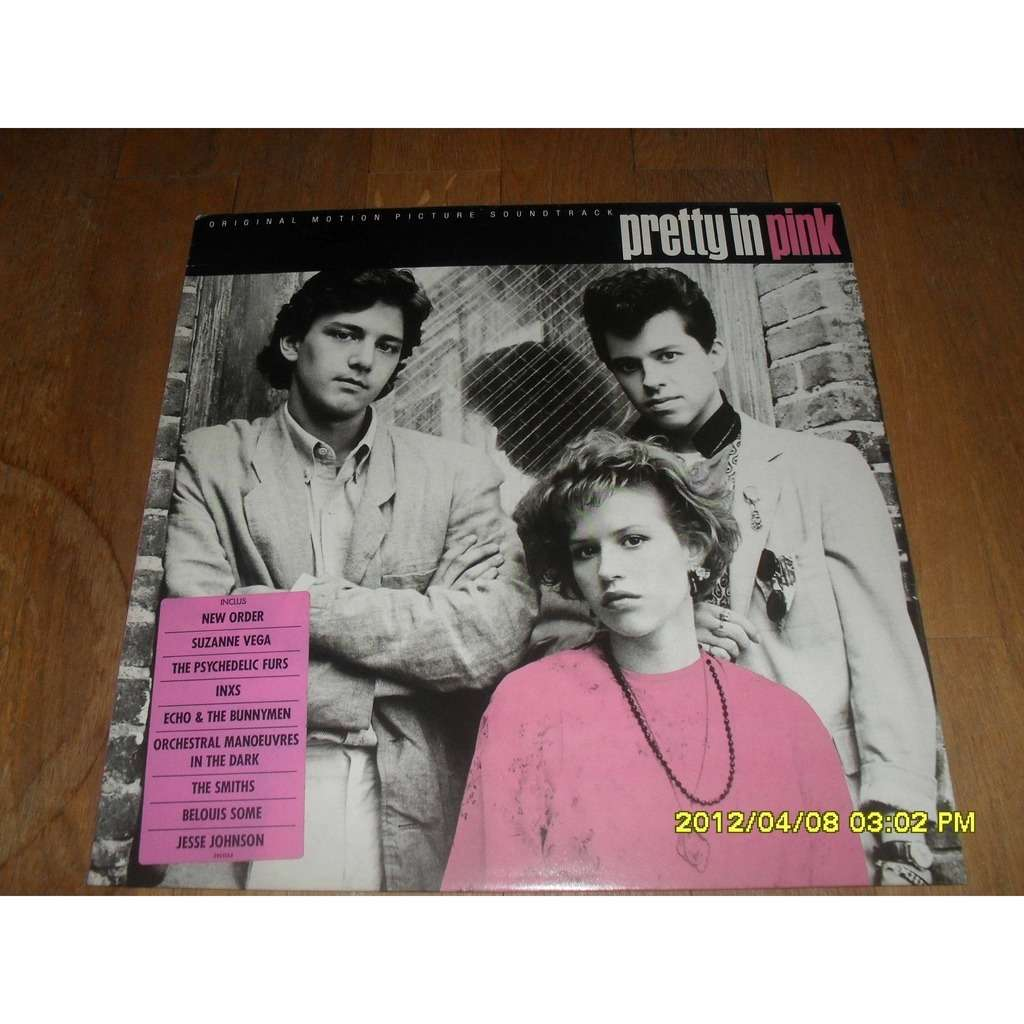 NEW ORDER / SMITHS / PSYCHEDELIC FURS /  INXS Pretty in Pink  soundtrack
