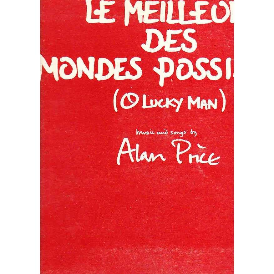 alan price - le meilleur des mondes possibles (o lucky man) soundtrack - LP