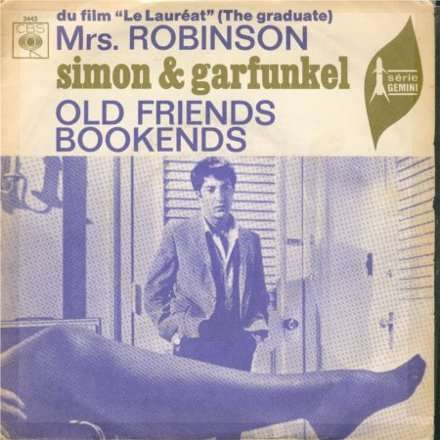 Mrs Robinson By Simon And Garfunkel Sp With