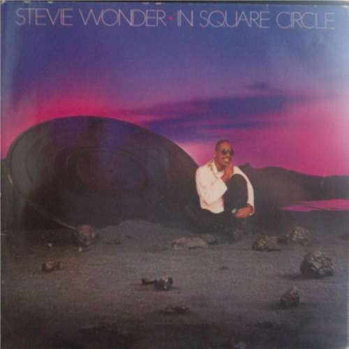 In Square Circle By Stevie Wonder Lp Gatefold With