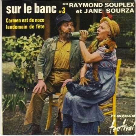 raymond souplex jane sourza sur le banc n°3