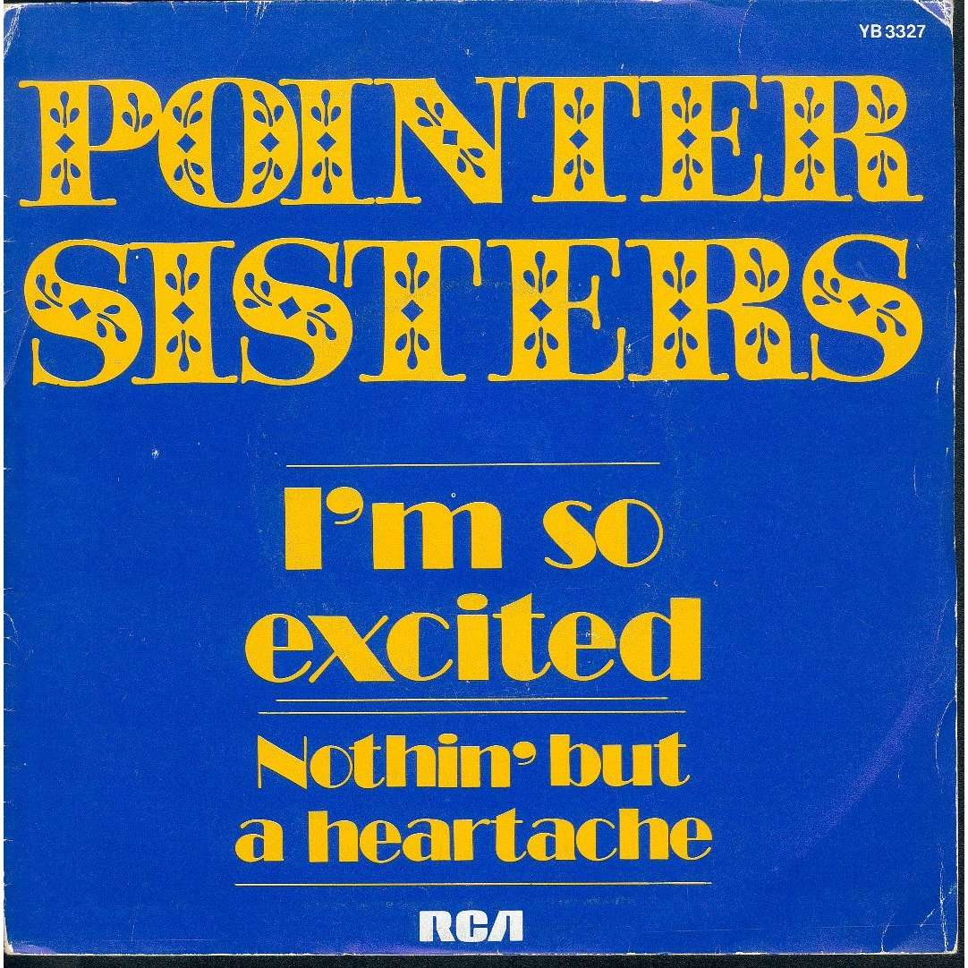 pointer sisters I'm so excited