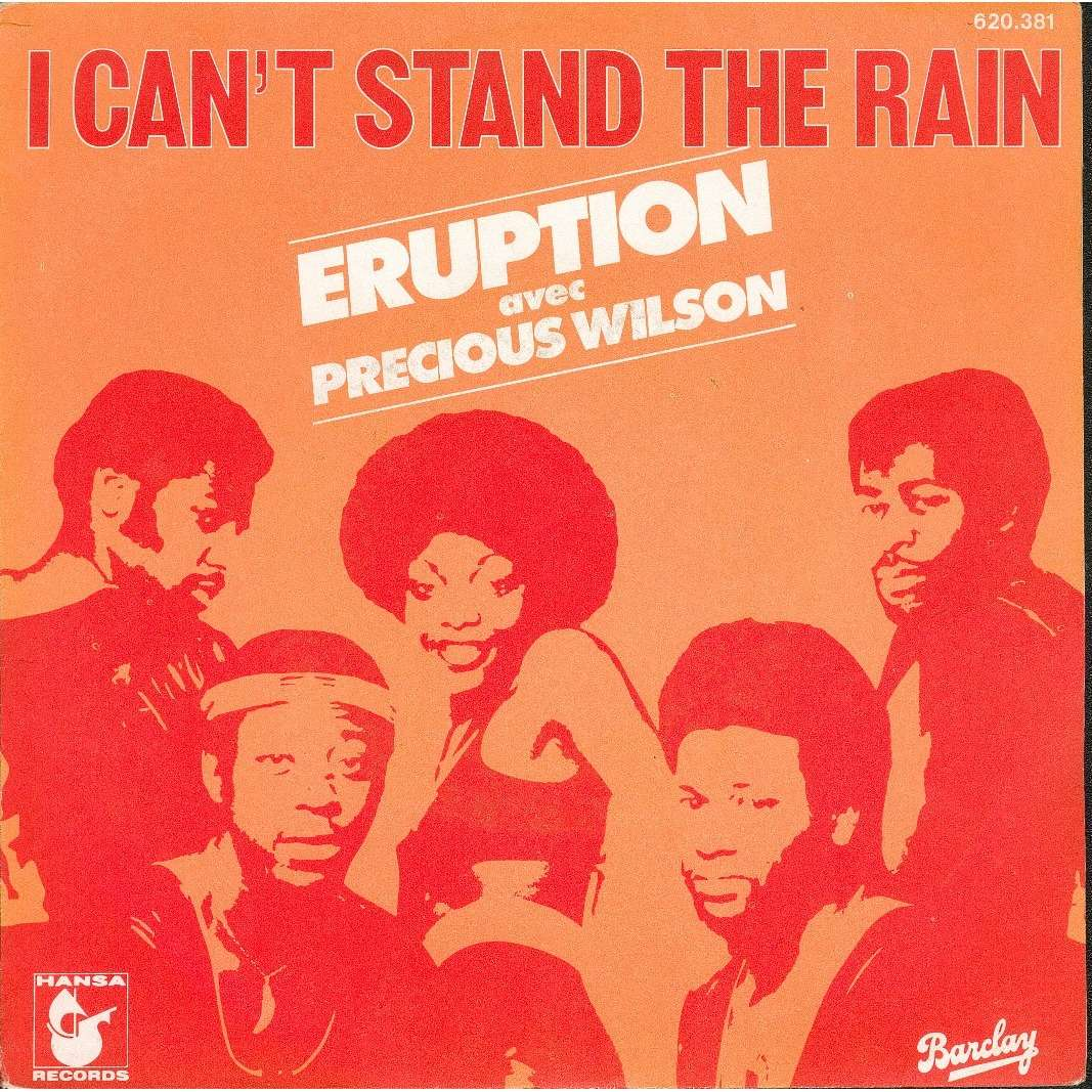 I Can T Stand The Rain Be Yourself By Eruption Sp With
