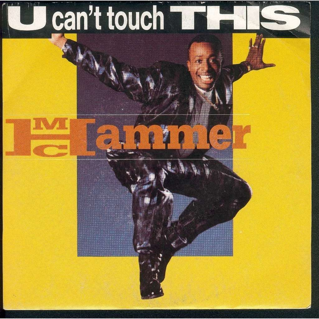 mc hammer u can't touch this