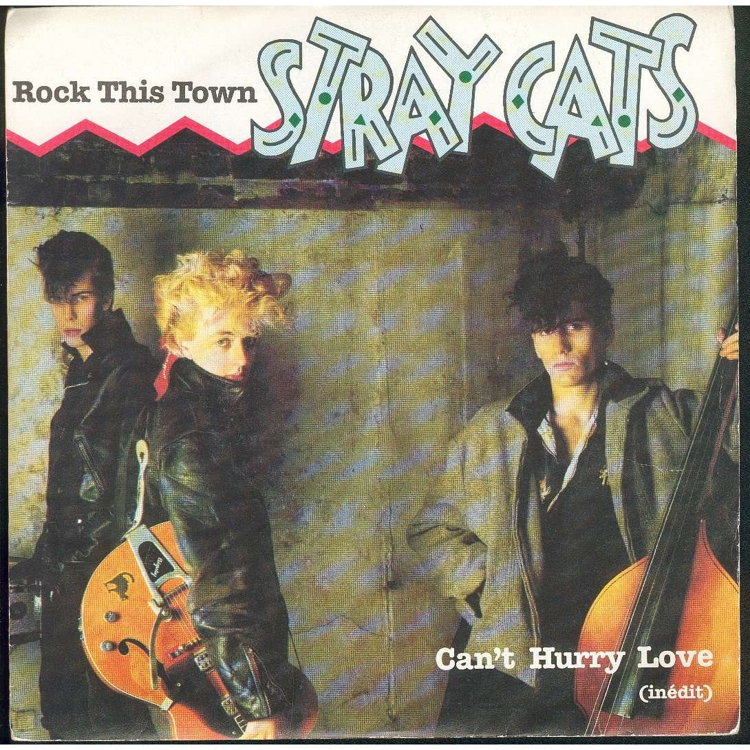 Stray Cats Rock This Town 7inch Sp For Sale On
