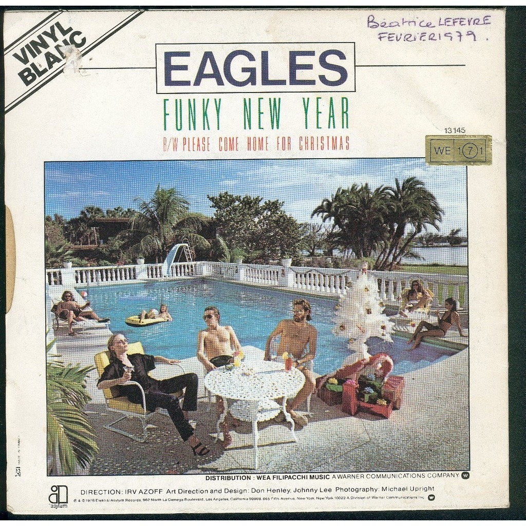The Eagles Please Come Home Gor Christmas