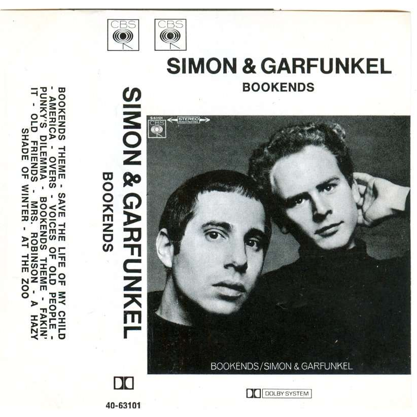Simon And Garfunkel Bookends Tape For Sale On Cdandlp Com