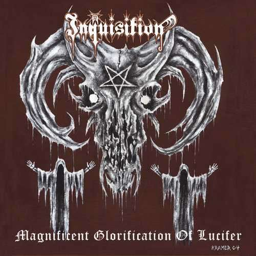 INQUISITION magnificent glorification of lucifer, CD + BONUS for ...