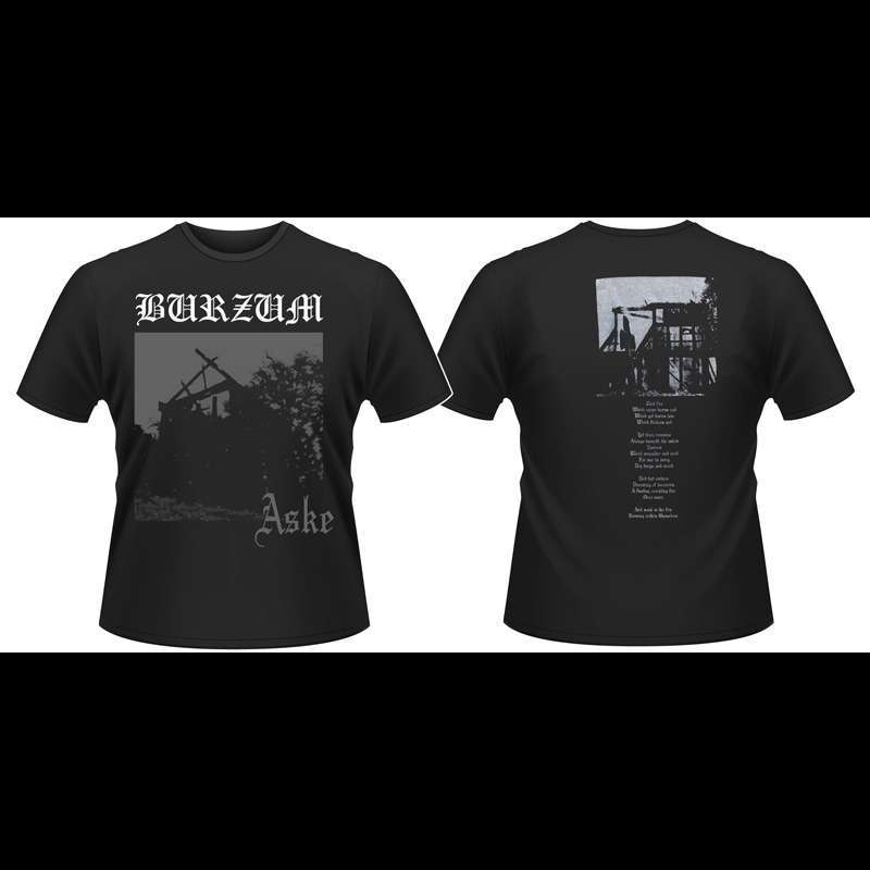 BURZUM aske, T-SHIRT for sale on osmoseproductions.com