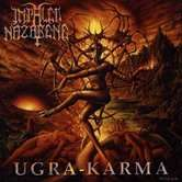 IMPALED NAZARENE Ugra Karma. Orange Fire Vinyls.
