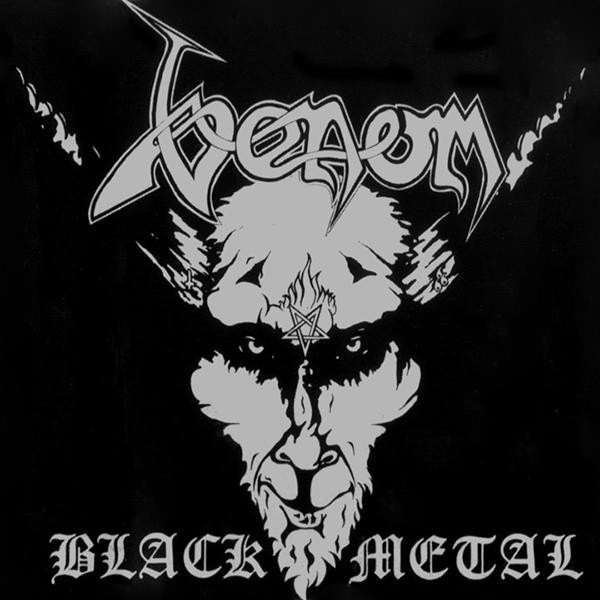 VENOM black metal. black vinyl