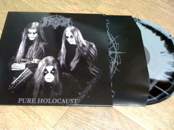 IMMORTAL pure holocaust. ab side colors, LP for sale on CDandLP.com