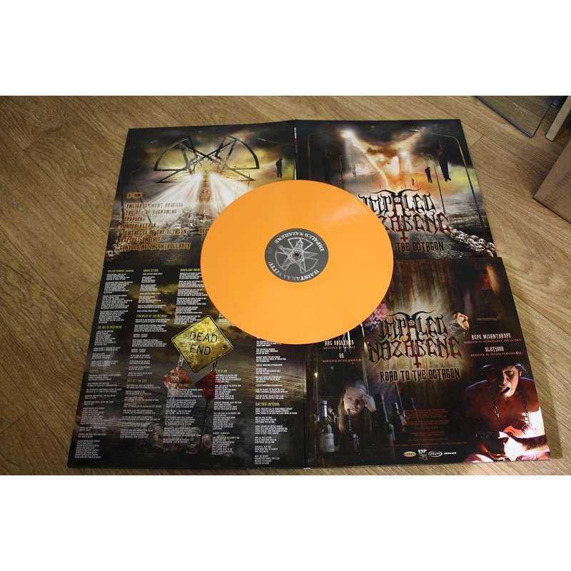 IMPALED NAZARENE Road To The Octagon. Orange Opaque Vinyl